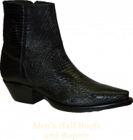 Men's Half Boots and Ropers